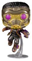 Hračka Figurka Marvel: What If...? - T'Challa Star-Lord Metallic (Funko POP! Marvel 871)