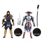 Figúrka Mortal Kombat - Scorpion & Raiden 2-pack (McFarlane) (HRY)