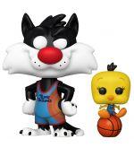 Hračka Figurka Space Jam: A New Legacy - Sylvester & Tweety (Funko POP! Movies 1087)