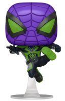 Figúrka Spider-Man - Miles Morales Purple Rein Suit Metallic (Funko POP! Games) (HRY)