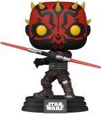 Hračka Figurka Star Wars: Clone Wars - Darth Maul (Funko POP! Star Wars 410) (poškozený obal)