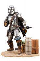 Hračka Figurka Star Wars: The Mandalorian - Mandalorian & The Child (ArtFX)