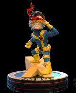 Figurka X-Men - Cyclops Diorama (Q-Fig)