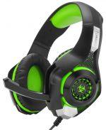 Herní příslušenství Herní sluchátka Connect IT Biohazard (zelené)