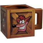 Hračka Hrnek Crash Bandicoot: Crash Crate