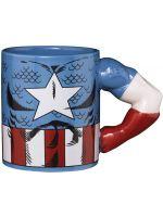 Hrnček Marvel - Captain America (3D)