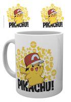 Hrnček Pokémon - Pikachu s čapicou (HRY)