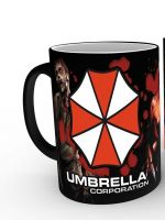 Hrnček Resident Evil - Umbrella (Meniaci hrnček) (HRY)