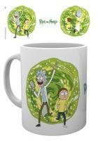 Hrnček Rick and Morty - Portal biely (HRY)