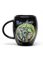 Hrnček Rick and Morty - Portal čierný (HRY)