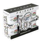 Hrnček Friends - Central Perk Espresso Sada - 4 ks (HRY)