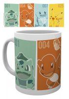 Hračka Hrnek Pokémon - Starters