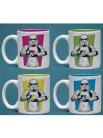 Hračka Hrnek Star Wars - Espresso Sada - 4 ks