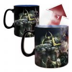 Hrnček Warhammer 40.000 - Ultramarine & Black Legion (meniaci sa) (HRY)