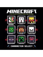 Kalendár Minecraft 2020 - Mini (HRY)