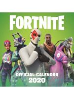 Kalendár Fortnite Official 2020 (HRY)