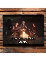 Kniha Kalendář Zaklínač - Cosplay 2019