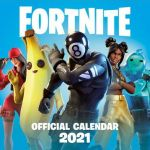 Kalendár Fortnite 2021 (HRY)
