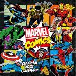 Kalendár Marvel 2021 (HRY)