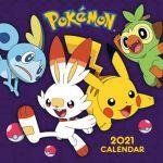 Kalendár Pokémon 2021 (HRY)