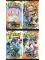 Kartová hra Pokémon TCG: Cosmic Eclipse - Booster (10 kariet) (STHRY)