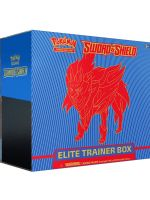 Kartová hra Pokémon TCG: Sword and Shield - Elite Trainer Box (Zamazenta - modrý box) (STHRY)