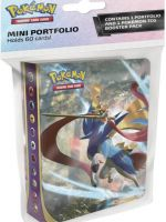 Stolová hra Kartová hra Pokémon TCG: Sword and Shield - Mini Album + booster (10 kariet)