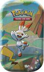 Stolní hra Karetní hra Pokémon TCG - Galar Pal Mini Tin: Scorbunny & Pikachu