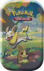 Stolní hra Karetní hra Pokémon TCG - Galar Pal Mini Tin: Yamper & Morpeko