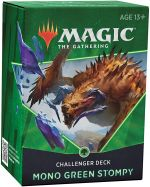 Hračka Karetní hra Magic: The Gathering 2021 - Mono Green Stompy (Challenger Deck)