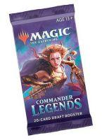 Hračka Karetní hra Magic: The Gathering Commander Legends - Draft Booster (20 karet)