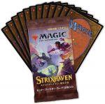 Hračka Karetní hra Magic: The Gathering Strixhaven - Japonský Set Booster (12 karet)