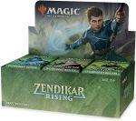 Hračka Karetní hra Magic: The Gathering Zendikar Rising - Draft Booster Box (36 Boosterů)