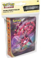 Stolní hra Karetní hra Pokémon TCG: Sword and Shield Darkness Ablaze - Mini Album + booster (10 karet)