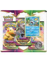 Kartová hra Pokémon TCG: Sword and Shield Vivid Voltage - 3-Pack Blister Booster (Sobble) (STHRY)