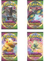 Hračka Karetní hra Pokémon TCG: Sword and Shield Vivid Voltage - Blister Booster (10 karet)