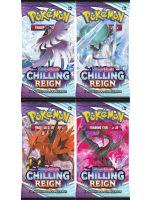 Kartová hra Pokémon TCG: Sword & Shield Chilling Reign - booster (10 kariet) (STHRY)