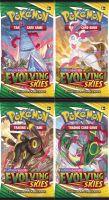 Hračka Karetní hra Pokémon TCG: Sword & Shield Evolving Skies - booster (10 karet)
