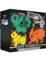 Kartová hra Pokémon TCG: Sword & Shield Evolving Skies - Elite Trainer Box (v1) (STHRY)
