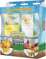 Kartová hra Pokémon TGC - Lets Play Pokémon (štartovacia sada pre 2 hráčov) (STHRY)