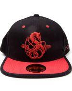 Šitlovka God of War - 3D Wolrd Snake Cap (HRY)