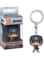 Kľúčenka Avengers - Captain America (Funko) (HRY)