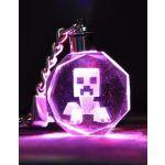 Kľúčenka Minecraft Creeper LED