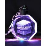 Kľúčenka Minecraft LED