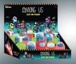 Hračka Klíčenka Among Us - Plyšový Crewmate (červený)