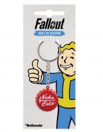 Hračka Klíčenka Fallout 4 - Zátka od Nuka Coly (červená)