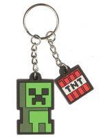 Hračka Klíčenka Minecraft Dungeons - Creeper Sprite