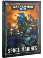 Kniha W40k: Codex: Space Marines (2019) (KNIHY) + figúrka zadarmo