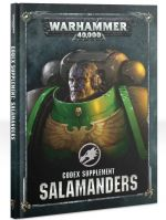 Kniha Kniha W40k: Codex Supplement: Salamanders