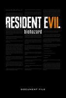 Hračka Kniha Resident Evil 7: Biohazard Document File